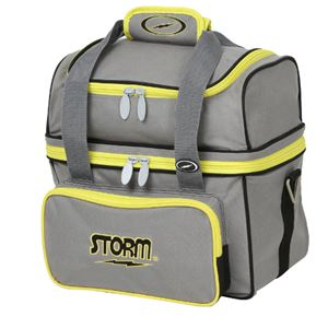 Storm 1 Ball Flip Tote Yellow/Grey Bowling Bags