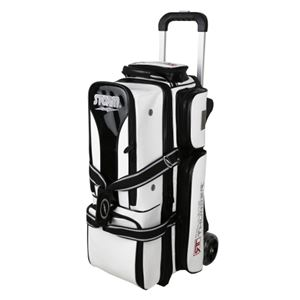 Storm Rolling Thunder 3 Ball Roller Signature White/Black Bowling Bags