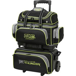 Storm Rolling Thunder 4 Ball Roller Black/Grey/Lime Bowling Bags