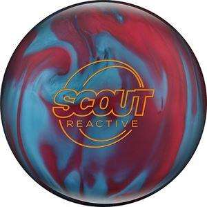 Columbia 300 Scout Reactive Raspberry/Blue Bowling Balls
