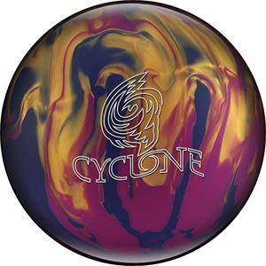 Ebonite Cyclone Violet/Gold/Blue Bowling Balls