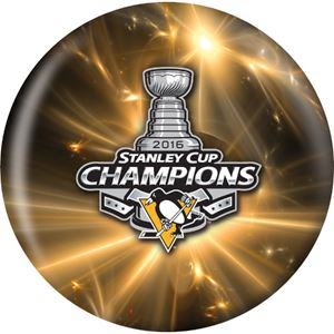 OTB NHL Pittsburgh Penguins 2016 Stanley Cup Champions Bowling Balls