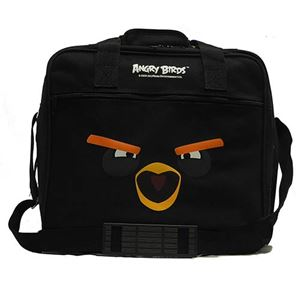 Ebonite Angry Birds Black Bomb Bird Single Ball Tote Exclusive Bowling Bags