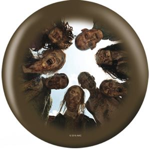 OTB The Walking Dead Zombie Circle Bowling Balls