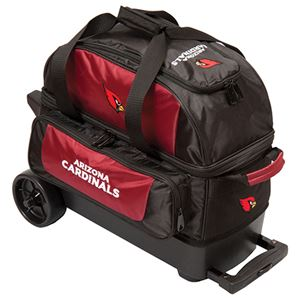 KR Strikeforce NFL Arizona Cardinals Double RollerBowling Bags