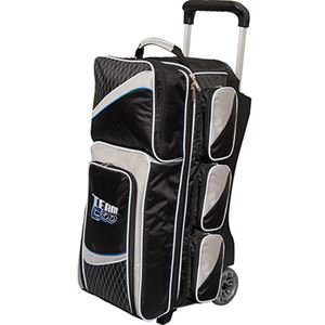 Columbia 300 Team Columbia 3 Ball Roller Black/Silver Bowling Bags