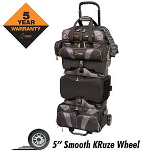 Hammer Premium 6 Ball Stackable Roller Black/Carbon Bowling Bags