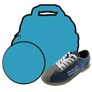 Women's Entry Ball/Bag/Shoe Combo Bowling Combos