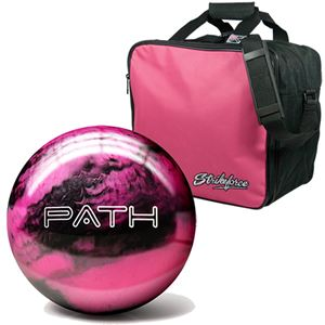 I Love Pink Ball & Bag Combo Bowling Combos
