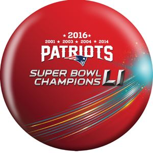 NFL 2016 Patriots Superbowl Champs Bowling Ball