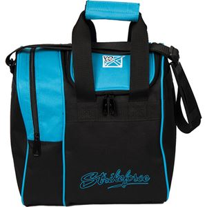 KR Strikeforce Rook Single Ball Tote Aqua Bowling Bags