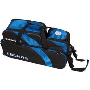 Ebonite Equinox 3 Ball Tote w/Removable Pouch Bowling Bags