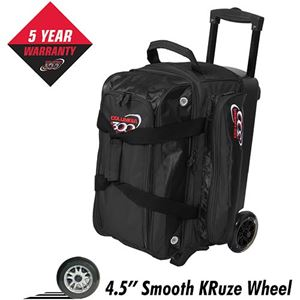 Columbia 300 Icon Double Roller Black bowling Bags