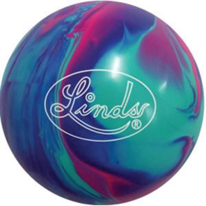 Linds Easy Flip Green/Pink/Purple 15 Only Bowling Balls