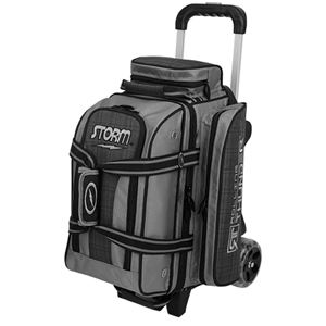 Storm Rolling Thunder 2 Ball Roller Black/Grey Plaid Bowling Bags