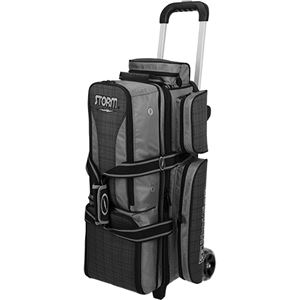 Storm Rolling Thunder 3 Ball Roller Black/Grey Plaid Bowling Bags
