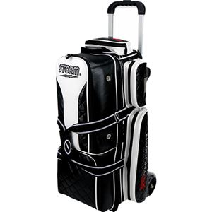 Storm Rolling Thunder 3 Ball Roller Signature Black/White Bowling Bags
