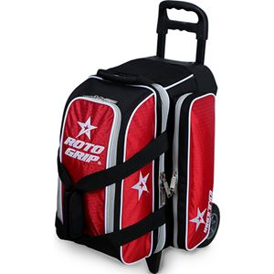 Roto Grip 2 Ball Roller Black/Red/White Bowling Bags
