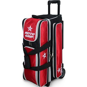 Roto Grip 3 Ball Roller Black/Red/White Bowling Bags