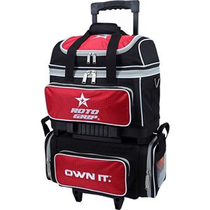Roto Grip 4 Ball Roller Black/Red/White Bowling Bags