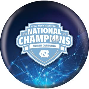 OTB 2017 NCAA National Champion University of North Carolina Bowling Balls
