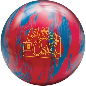 DV8 Alley Cat Red/Electric Blue with Free Sack Bowling Balls