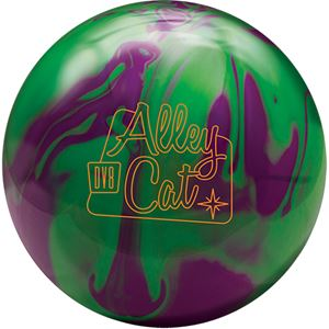 DV8 Alley Cat Purple/Green with Free Sack Bowling Balls