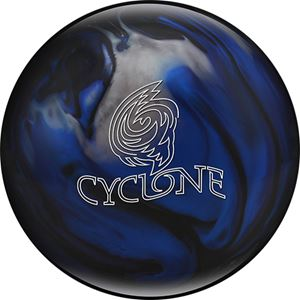 Ebonite Cyclone Black/Blue/Silver Bowling Balls