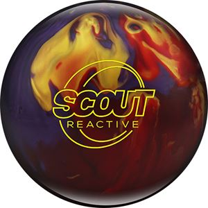 Columbia 300 Scout Reactive Red/Purple/Gold Bowling Balls