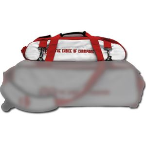 Vise Grip 3 Ball Add-On Shoe Bag White/Red Bowling Accessories