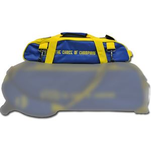 Vise Grip 3 Ball Add-On Shoe Bag Blue/Yellow Bowling Accessories