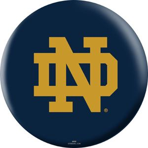 OTB NCAA Notre Dame Fighting Irish Bowling Balls
