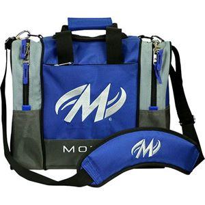 Motiv Shock 1 Ball Tote Blue Bowling Bags