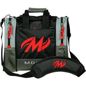 Motiv Shock 1 Ball Tote Black Bowling Bags
