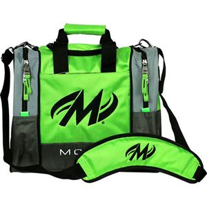 Motiv Shock 1 Ball Tote Lime Bowling Bags