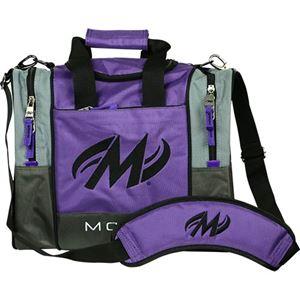 Motiv Shock 1 Ball Tote Purple Bowling Bags
