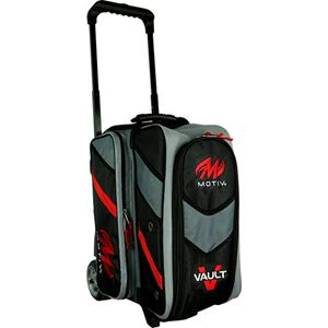 Motiv Vault 2 Ball Roller Black Bowling Bags