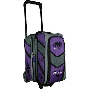 Motiv Vault 2 Ball Roller Purple Bowling Bags