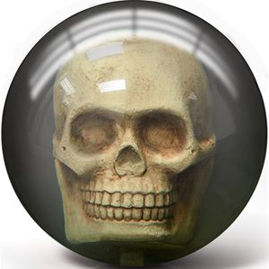 Pyramid Clear Skull with FREE Microfiber Towel Bowling Balls