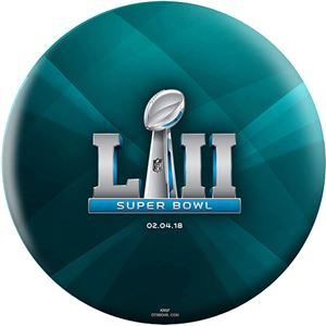Philadelphia Eagles Super Bowl LII Bowling Ball For Product Page NFL Bowling Balls
