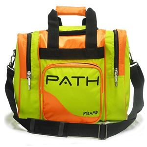 Pyramid Path Pro Deluxe Single Tote Lime Green/Orange ROLL BACK 2020