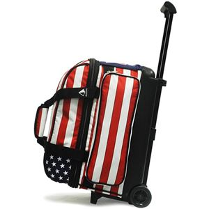 Pyramid Path Deluxe Double Roller Dye-Sublimated Stars & Stripes