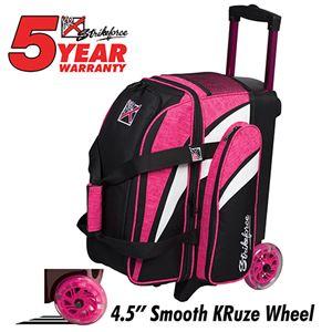 KR Strikeforce Cruiser Smooth Double Roller Pink
