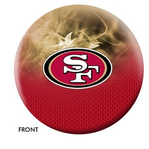 San Francisco Forty Niners Bowling Ball For The Product Page NFL Bowling Balls
