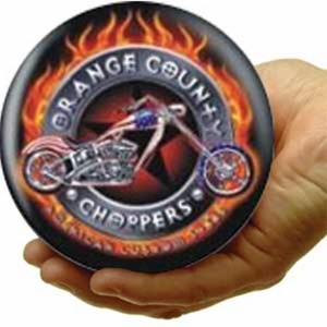 Mini Viz-A-Ball Orange County Chopper RARE Collector's Item Mini Viz-a-Ball