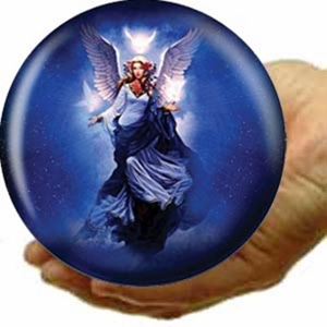 Mini Viz-A-Ball Artist Approved Angel Ball - Celestial Apparition Mini Viz-a-Ball