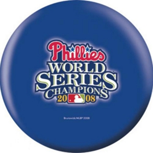 OTB MLB Philadelphia Phillies 2008 World Champions Bowling Balls