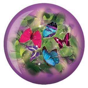 Viz-A-Ball Butterflies Glow Bowling Balls