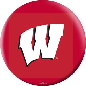 OTB NCAA Wisconsin Badgers Bowling Balls