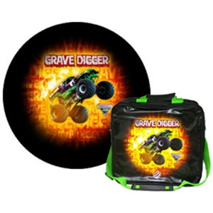 Exclusive Grave Digger Ball/Bag Combo Bowling Combos
